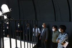افتتاح بزرگترین رصدخانه خورشیدی تهران