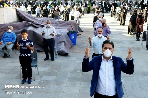 جشن عید غدیر در تبریز