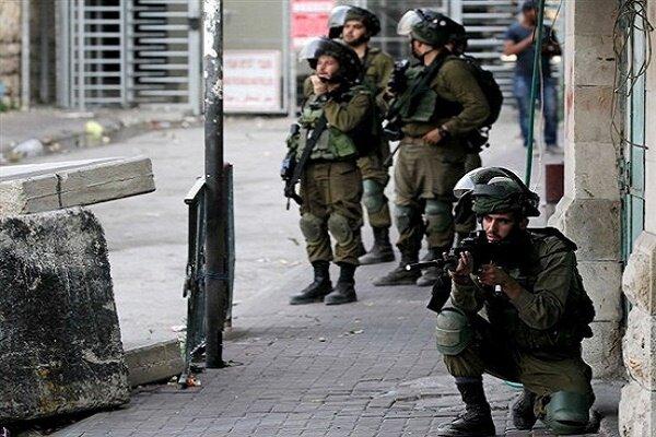 درگیری میان فلسطینی ها و نظامیان صهیونیست در شمال رام الله