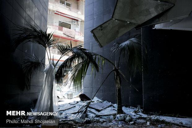 حجم خسارات انفجار بندر بیروت