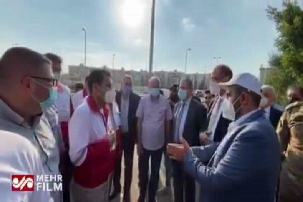وزیر الصحة اللبنانی یزور مستشفی الهلال الأحمر الإیرانی فی بیروت / فيديو