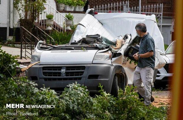 خسارتهای طوفان استوایی در نیویورک