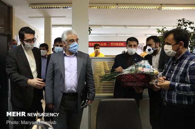 رئیس دانشگاه آزاد اسلامی از خبرگزاری مهر بازدید کرد