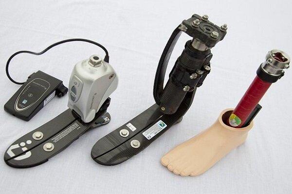 700 Iranian War Veteran using domestic prosthetic feet