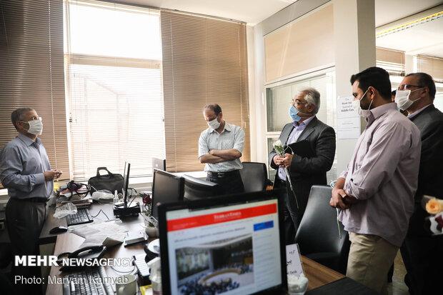 بازدید رئیس دانشگاه آزاد اسلامی از روزنامه تهران تایمز