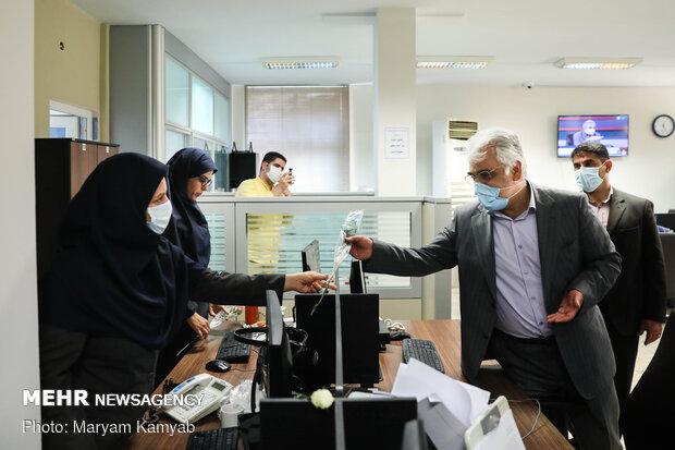 بازدید رئیس دانشگاه آزاد اسلامی از خبرگزاری مهر