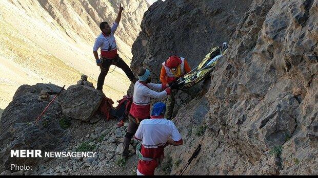 مرگ مرد ۵۰ ساله بر اثر سقوط از کوه صفه اصفهان