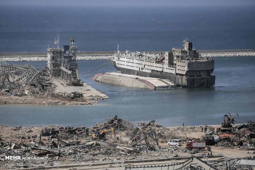 آغاز پیگرد قضایی چند مقام لبنانی در ارتباط با انفجار بندر بیروت