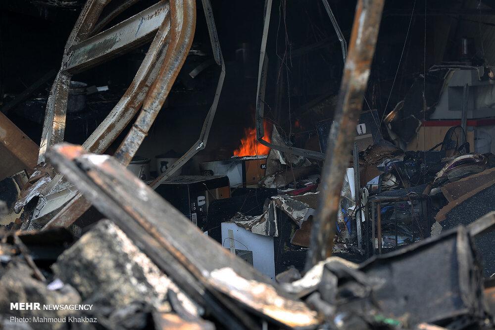 آتشسوزی در کرج ۲ کشته و یک مصدوم برجای گذاشت