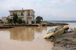 جاری شدن سیل در یونان/ دست کم ۵ تن کشته شدند