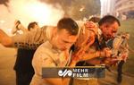 درگیری پلیس با معترضان نتیجه انتخابات بلاروس