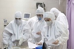 پاک شدن تمامی بخشهای کرونایی بیمارستان قائم(عج)