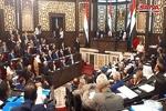 اعضاء مجلس الشعب السوري يبدؤون بتأدية القسم الدستوري
