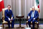 ماکرون با رئیسجمهور لبنان تلفنی گفتگو کرد