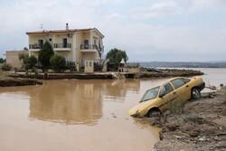 یونان میں طوفانی بارشوں کے بعد سیلاب نے تباہی مچادی