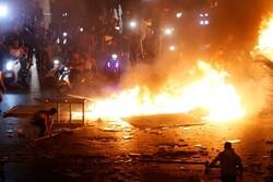 برخی خشونت طلبان چارچوبهای اعتراضات مسالمت آمیز را زیر پا گذاشتند