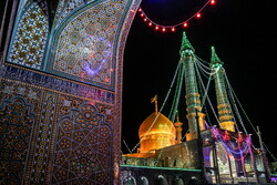 People of Qom celebrate birth anniversary of 7th Shia Imam