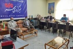 بازدید رئیس سازمان بسیج رسانه لرستان و مدیران استانی خبرگزاریها از خبرگزاری مهر