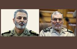سرلشکر شهبازی اهدای نشان فداکاری دانشگاه امام علی(ع) را تبریک گفت