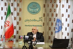 "Zarif delivers third online talk on ""World in Transition"""