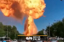 VIDEO: Huge blast rips through gas station in SW Russia