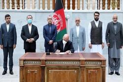 اشرفغنی به طالبان برای مشارکت در قدرت پیشنهاد داده است
