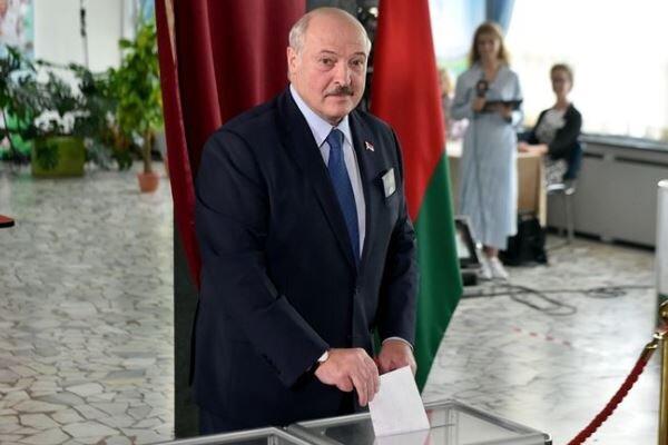 «الکساندر لوکاشنکو» در انتخابات ریاست جمهوری بلاروس پیشتاز است