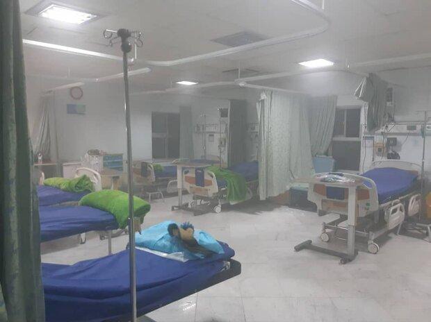 آتش سوزی در بیمارستان خیابان سخایی/حادثه تلفات جانی و مالی نداشت
