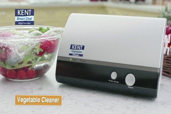 ضدعفونی کردن میوه ها و سبزیجات با دستگاه رومیزی
