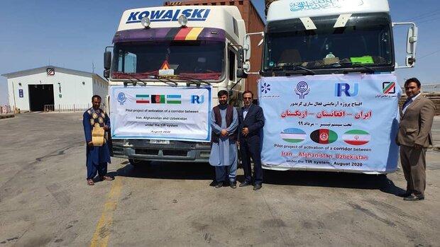 Iran-Afghanistan-Uzbekistan transit corridor operational