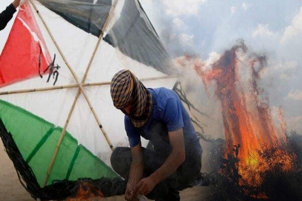 بالن های آتشزا؛ سلاحی که صهیونیستها را به وحشت انداخته است