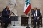رایزنی وزیر خارجه مصر با میشل عون