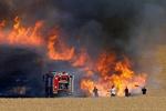 آتش سوزیهای جدید در شهرک های صهیونیست نشین اطراف غزه