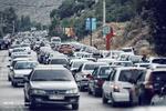 ترافیک نیمهسنگین در آزادراه کرج - قزوین