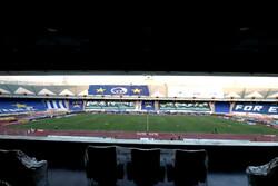 ورزشگاه آزادی برای دیدار استقلال - مس ضدعفونی شد