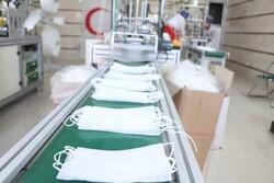 کمبودمواد اولیه تولید ماسک درگلستان/روزانه ۷۰۰۰۰ماسک تولید می شود