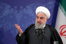 روحاني: عرض النفط في سوق البورصة يعد خطوة بنائة في مواجهة الحظر