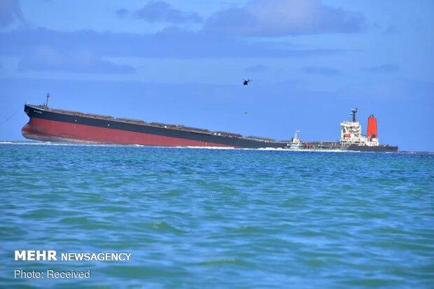 بحران زیست محیطی در جزیره موریس