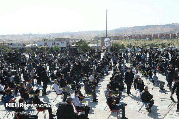 مراسم تشییع پیکر فخرالذاکرین حاج فیروز زیرک کار در تبریز