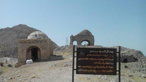 آثار تاریخی فراشبند از زلزله آسیب ندید