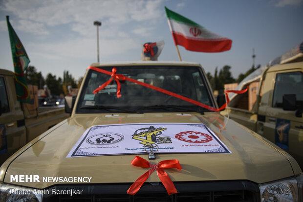 توزیع و اهدای 1000 سری جهیزیه به زوجهای جوان در شیراز