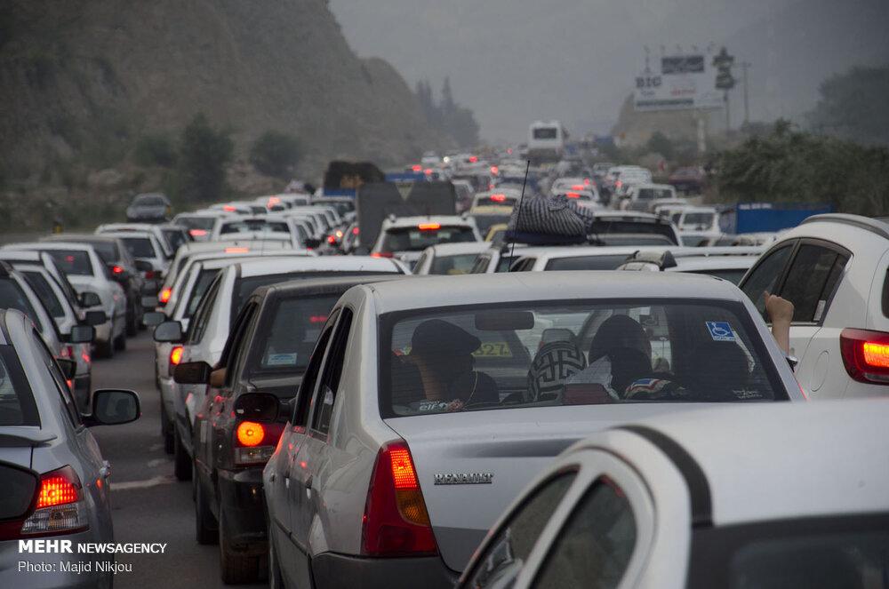 وضعیت ترافیک در محورهای شمالی/ افزایش ۲.۶ درصدی ترددها