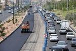 آسفالتریزی اساسی قطعه یک کیلومتری اتوبان پاسداران تبریز آغاز شد
