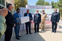 Iran's shipment of medical aid arrives in Afghanistan