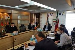 جلسه نمایندگان فوتبال ایران در لیگ قهرمانان با دبیرکل فدراسیون