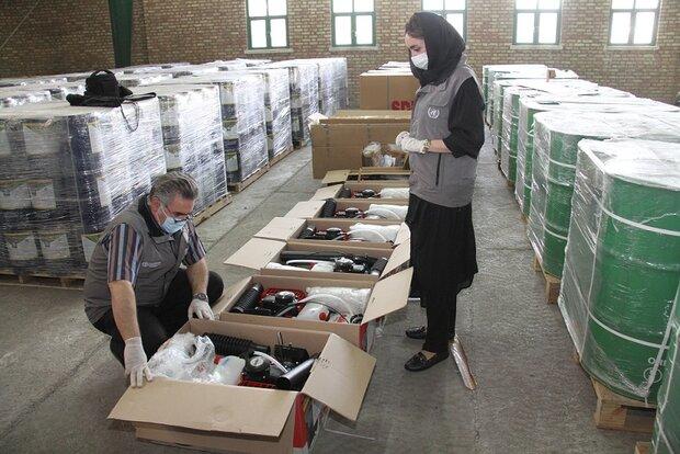 FAO supplies Iran with more desert locust equipment