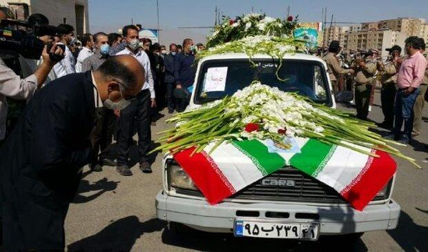 تشييع مميز لممرضة إيرانية استشهدت بوباء كورونا / فيلم