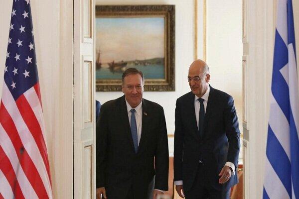 تنش در مدیترانه شرقی؛ محور دیدار جمعه وزیر خارجه یونان با پمپئو