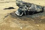 واژگونی پراید در جاده روستایی «واشیان» پلدختر جان راننده را گرفت