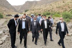 مدیران استان قزوین به الموت سفر کردند